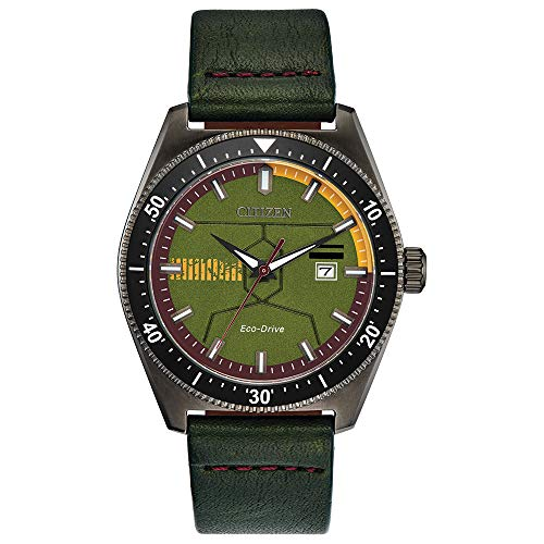 Citizen Star Wars Limited Edition Eco-Drive Watch (Boba Fett)  $169 at Amazon
