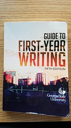 Guide to First-Year Writing
