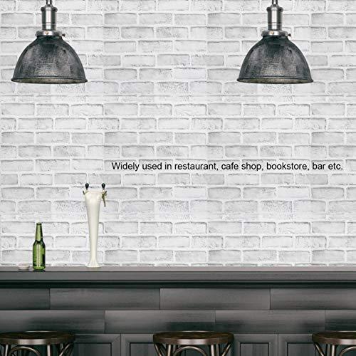 Emoshayoga Calcomanía de Pared de Papel Tapiz Decorativo para Sala de café