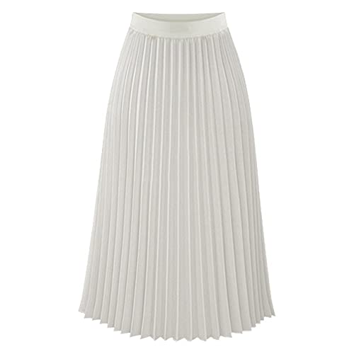 coupon code cheapest clearance sale Midi Summer Skirt: Amazon.co.uk