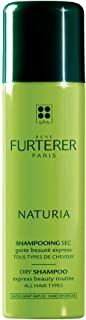 Rene Furterer NATURIA Dry Shampoo, Oil-Absorbing, Clay, Beige Tint, Lightly Scented