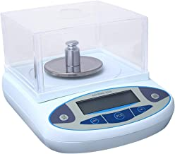 SEAAN Lab Analytical Balance Scale 0.001g Digital Laboratory Analytical Weight Scale Balance Electronic Precision Scale Jewelry Scale (500/0.001g)