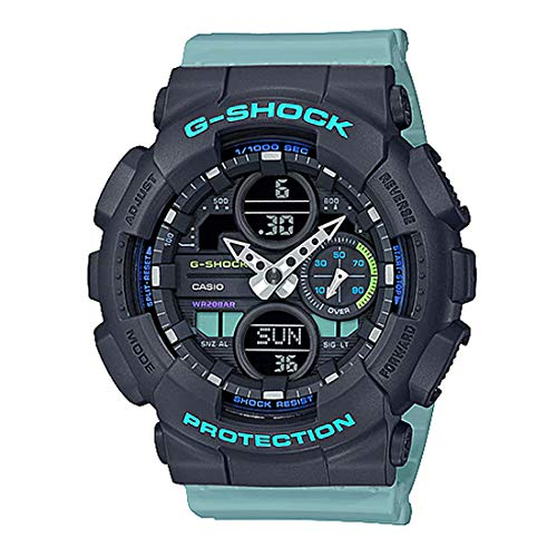 Ladies' Casio G-Shock S-Series Blue Resin Band Watch GMAS140-2A