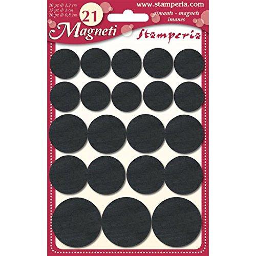 Calamite magneti medi misure miste 1,8cm 2,5cm 20pz Stamperia magnete calamita frigorifero