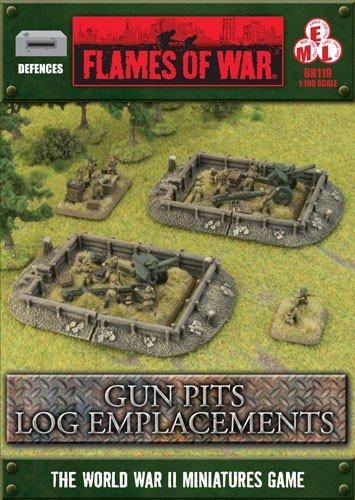Gun Pits Log Emplacements