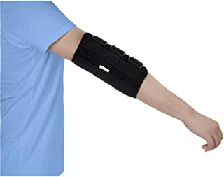 Elbow Splint Brace Cubital Tunnel Syndrome Unar Nerve Brace Elbow Immobilizer Child Kids Arm Stabilizer Brace Small PM Night Splint Radial Nerve Sleeping Restraints Wrap (S)