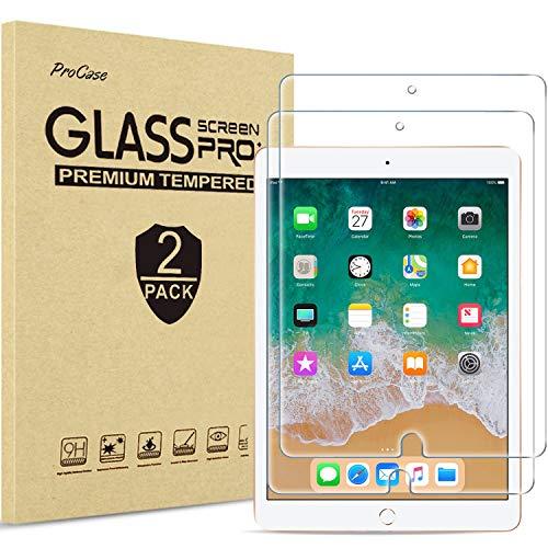 ProCase 2 uds. Vidrio Real para iPad 9,7