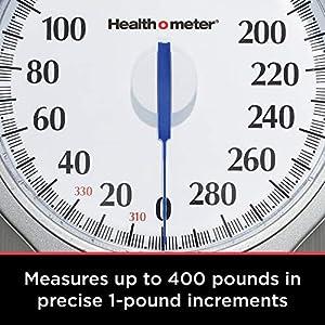 Health O Meter Oversized Dial Scale, Original version, Grey