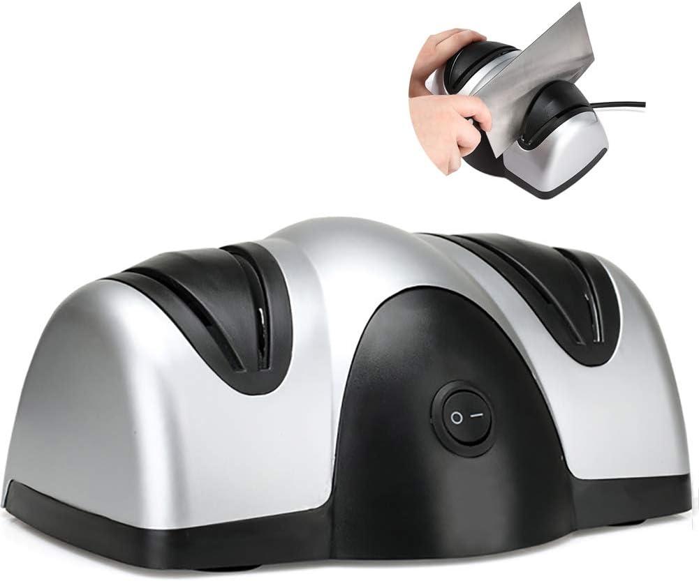 UNOIF 倉 高い素材 Electric Knife Sharpener Fast Multifunction Grindstone Ele