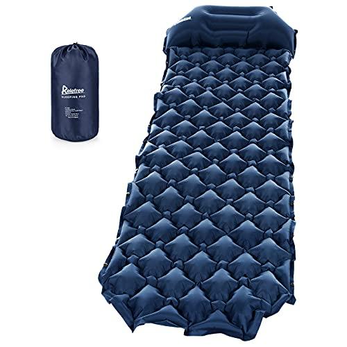 Relefree Camping Isomatte, tragbare feuchtigkeitsbeständige ultraleichte Schlafmatte, leicht und kompakt, geeignet für Camping, Outdoor
