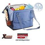 Xcase Mini Kühlbox: Elektrische 12-V-Thermo-Kühltasche fürs Auto, 35 l (Elektrische Kühltasche...