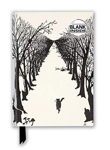 Premium Notizbuch Blank DIN A5: Rudyard Kipling, Streunende Katze: Unser hochwertiges Blankbook mit festem, künstlerisch geprägtem Einband (Premium Notizbuch DIN A 5 mit Magnetverschluss)