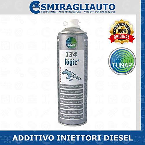 TUNAP Additivo Pulitore iniezione 134 micrologic 500ml Diesel Pulitore iniezione