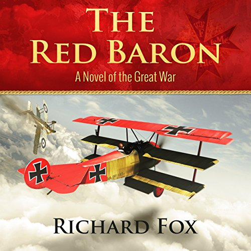 The Red Baron: A World War I Novel audiobook cover art