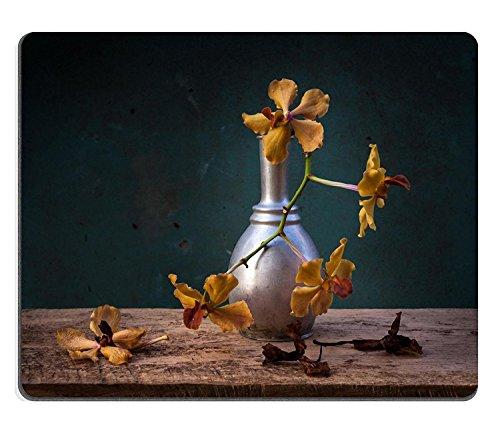 Luxlady Gaming Mousepad IMAGE ID: 24991466 retro vaas en orchidee