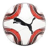 PUMA Final 5 HS Trainer Ballon De Foot Mixte Adulte, White Red Black, 5