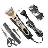 Sanjana Collecions Rock Light Professional hair clipper beard electric razor electric hair trimmer powerful hair shaving corded machine hair cutting Trimmer Corded Trimmer for Men & Women (Black)