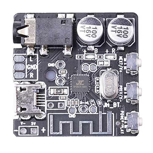 Harilla Recepción de Audio Receptor de Audio Inteligente Módulo BT5.0 Placa de Circuito de PC de música estéreo para el hogar para Auriculares 5.5V