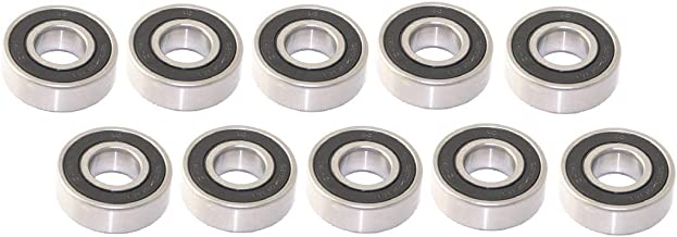 Raisman Pack of 10 Spindle Bearing Replaces Husqvarna 532110485 / John Deere GX20818