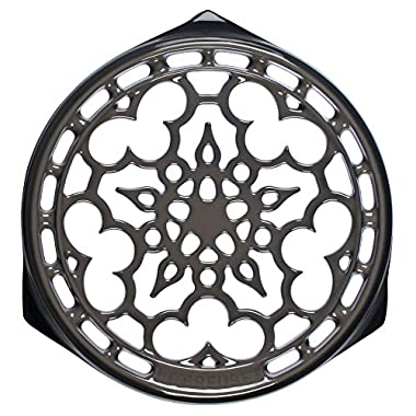 Le Creuset Enameled Cast-Iron 9-Inch Deluxe Round Trivet, Oyster