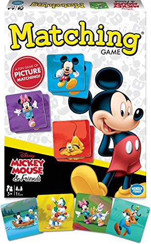 Mickey Mouse & Friends Matching Game