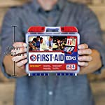 Be Smart Get Prepared 10HBC01082 100Piece First Aid Kit, Clean, Treat & Protect Most Injuries With The Kit that is great… 14 Manufactured by the #1 leading manufacturer of First Aid Kits in the USA. 100 pieces of comprehensive first aid treatment products. This Kit meets United States FDA Regulatory Standards as a Medical Device. Ideal for most businesses and perfect for family use at home or travel. Fully organized interior compartments provides quick access. The rugged, sturdy, high density plastic case is impact resistant