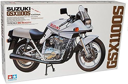 TAMIYA Suzuki GSX1100S Katana 1980 Kit Bausatz 1 6 Modell Motorrad mit individiuellem Wunschkennzeichen