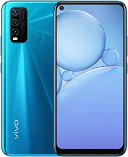 """vivo Y30 - Dual Sim 4G Smartphone, 64GB, 6.47"""" (Dazzle Blue)"""