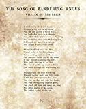 Ramini Brands William Butler Yeats - The Song of Wandering Aengus - 11 x 14 Unframed Typography Book Page - Great Gift for Book Lovers and Librarians
