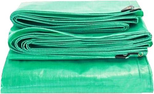 MuMa Bache Vert épaissir Imperméable Imperméable Crème Solaire Couverture Pluie Personnaliser (Couleur   vert, Taille   10  18M)