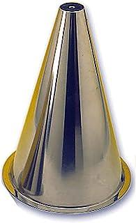 Matfer Bourgeat 340467 Moule conique en acier inoxydable pour croquembouche, 34 cm