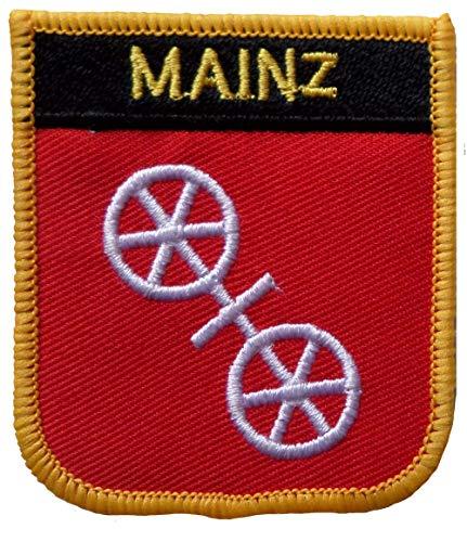 1000 Flaggen Mainz Deutschland Schild Bestickt Aufnäher Abzeichen