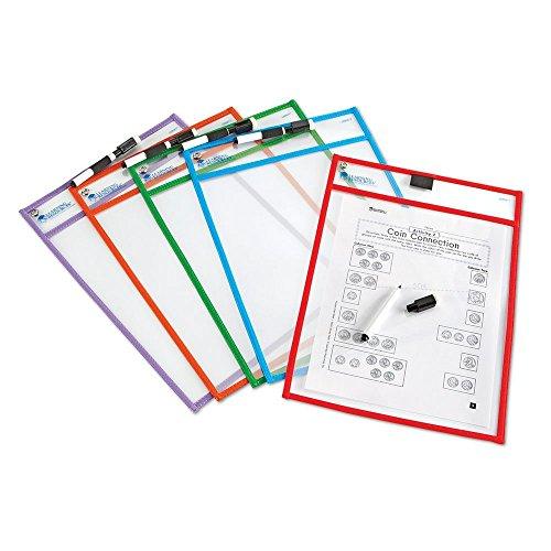 Learning Resources LER0477 Abwischbare durchsichtige Hüllen
