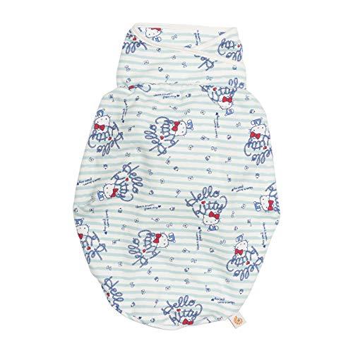 Ergobaby Pucksack Baby 0-3 Monate Baumwolle, Hello Kitty - Sail Away Puck-Schlafsack Ganzjährig Pucktuch Swaddler