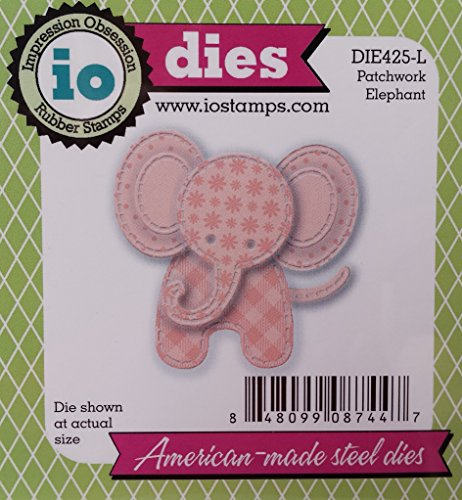 Impression Obsession craft die Patchwork Elephant