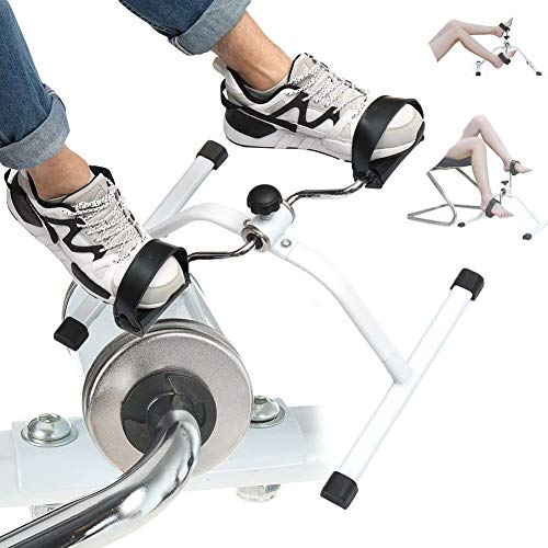 DSMGLRBGZ Bicicleta Spinning, Pedales Estaticos Entrenadores De Brazo/Pierna Entrenador De Bicicletas para Inicio Fitness Entrenadores Equipo De Gimnasia