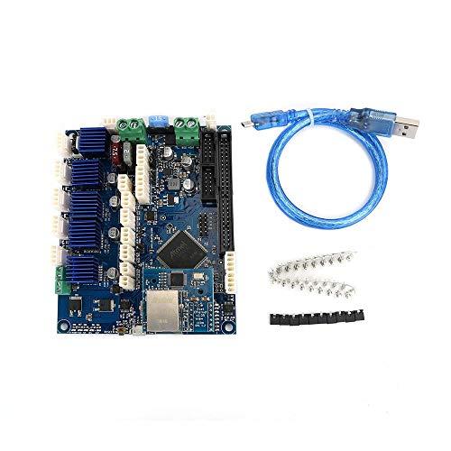 NARJOG Cloned Duet Ethernet V1.04 Advanced 32 Bit Electronics Board Mainboard Placa base que proporciona conectividad Ethernet para impresoras 3D Máquinas CNC