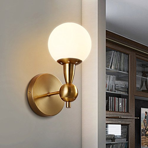 CJH Nordique Minimaliste Postmoderne Verre Lampe Murale Salon Chambre Salle À Manger Allée Mode Creative Mur Lampe