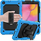 QYiD Tablet Case for Galaxy Tab A 8.0 (2019) Shockproof Heavy...