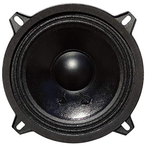 1 WOOFER CIARE CM133 CM 133 Altavoz de 13,00 cm 130 mm 5' 80 vatios rms y 200 vatios máx con impedancia 4 ohmios sensibilidad 90 db para Coche, 1 Pieza