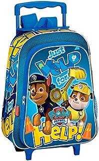 Paw Patrol Carro Mochila Infantil, 36 cm, Azul