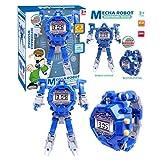 Yushu Deformación Robot Reloj Niños Electrónico Reloj de Pulsera Robots Transformación Robot Creativo Juguetes Regalo Niños 5-12 Años Niños y Niñas