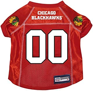 Chicago Blackhawks Premium Dog Pet Alternate Hockey Jersey w/ Name Tag LARGE
