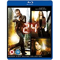 24: Season 8 - The Final Season (6 Blu-Ray) [Edizione: Regno Unito] [Italia] [Blu-ray]