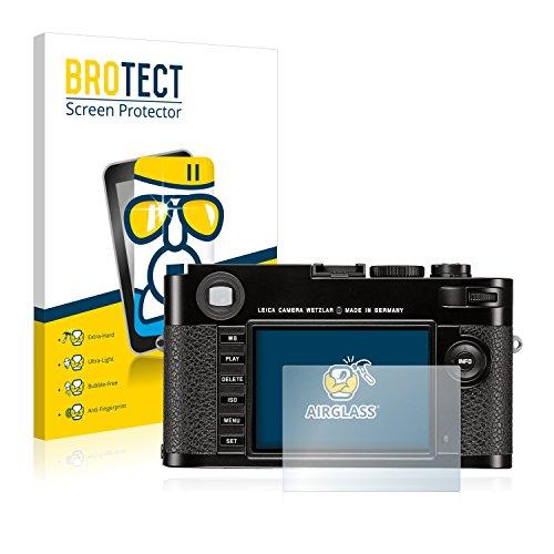 brotect Pellicola Protettiva Vetro Compatibile con Leica M (Typ 262) Schermo Protezione, Estrema Durezza 9H, Anti-Impronte, AirGlass