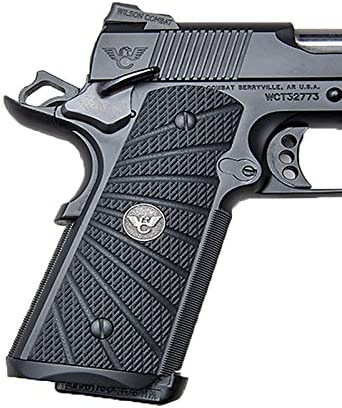 Wilson Combat 1911 Grips Full-Size G10 Black Max 51% OFF Starb Aggressive latest