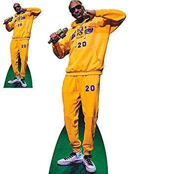 Wet Paint Printing + Design SP12079 Snoop Dogg Yellow Jumpsuit Cardboard Cutout