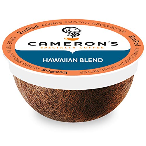 Cameron's Coffee Single Serve Pods, Hawaiian Coffee Blend, 12 Count (Pack of 6)