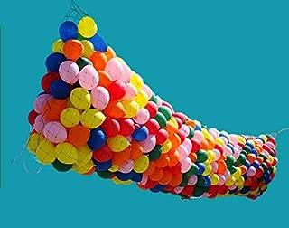 RenoSupplies Balloon Drop KIT Ballons Balloon Drop for Parties Balloon KIT 14x6 FEET