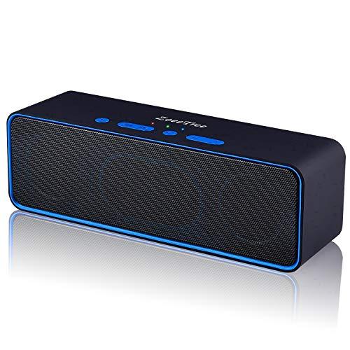 ZoeeTree S4-black Altavoz Bluetooth Port...